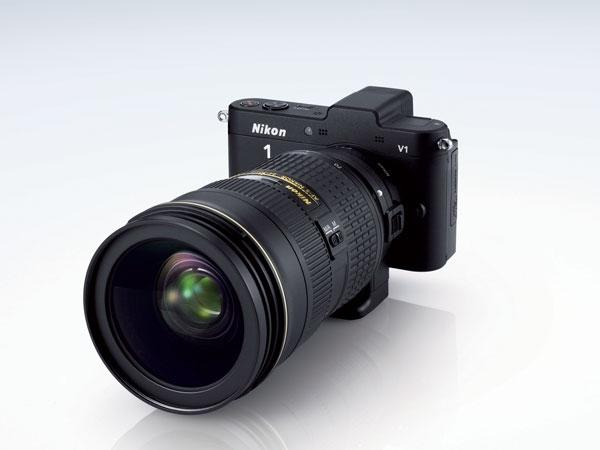 Nikon 1 V1 cu 24-70mm