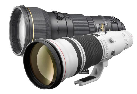 Teleobiectiv Canon vs Nikon