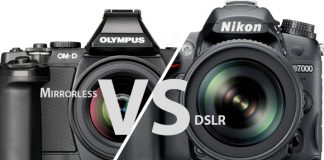Mirrorless vs. DSLR