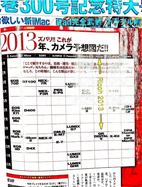 Predictiile pentru 2013