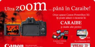 Canon te trimite in Caraibe