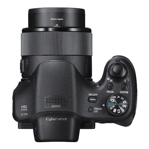 Sony HX300 si rotita de selectie