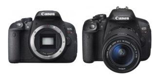Canon 100D si 700D anuntate oficial