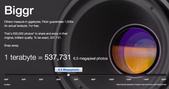 Flickr ofera acum gratuit pana la 1TB de stocare pentru fiecare membru