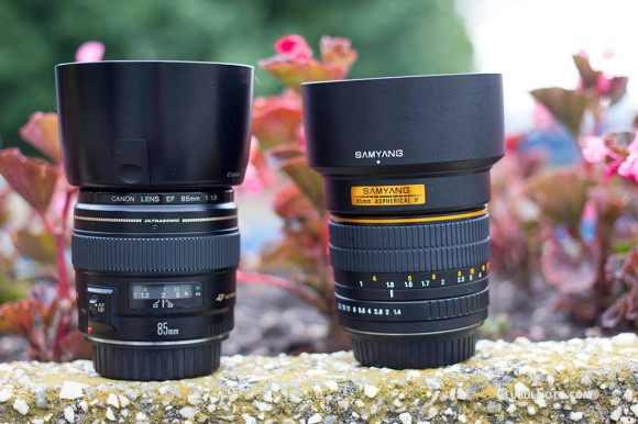 Canon 85mm f/1.8 vs Samyang 85mm f/1.4