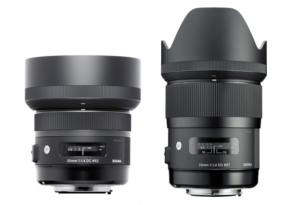 Comparatie: Sigma 30mm f/1.4 DC Art vs. Sigma 35mm f/1.4 EX Art