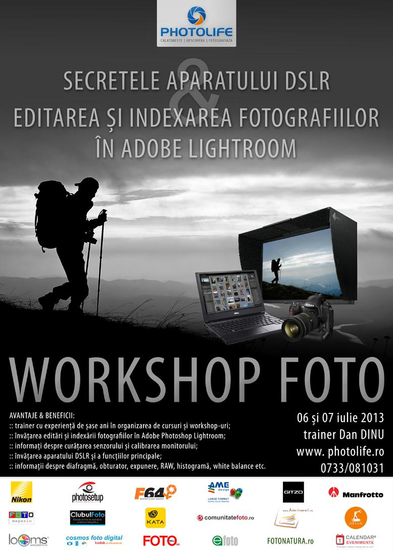 Workshopuri foto la Brasov