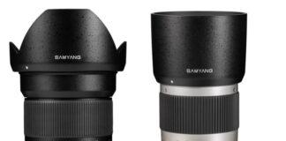 Samyang 16mm f/2.0 si Samyang 300mm f/6.3