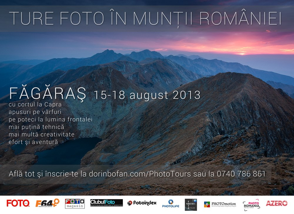 Tura foto in Fagaras - August 2013