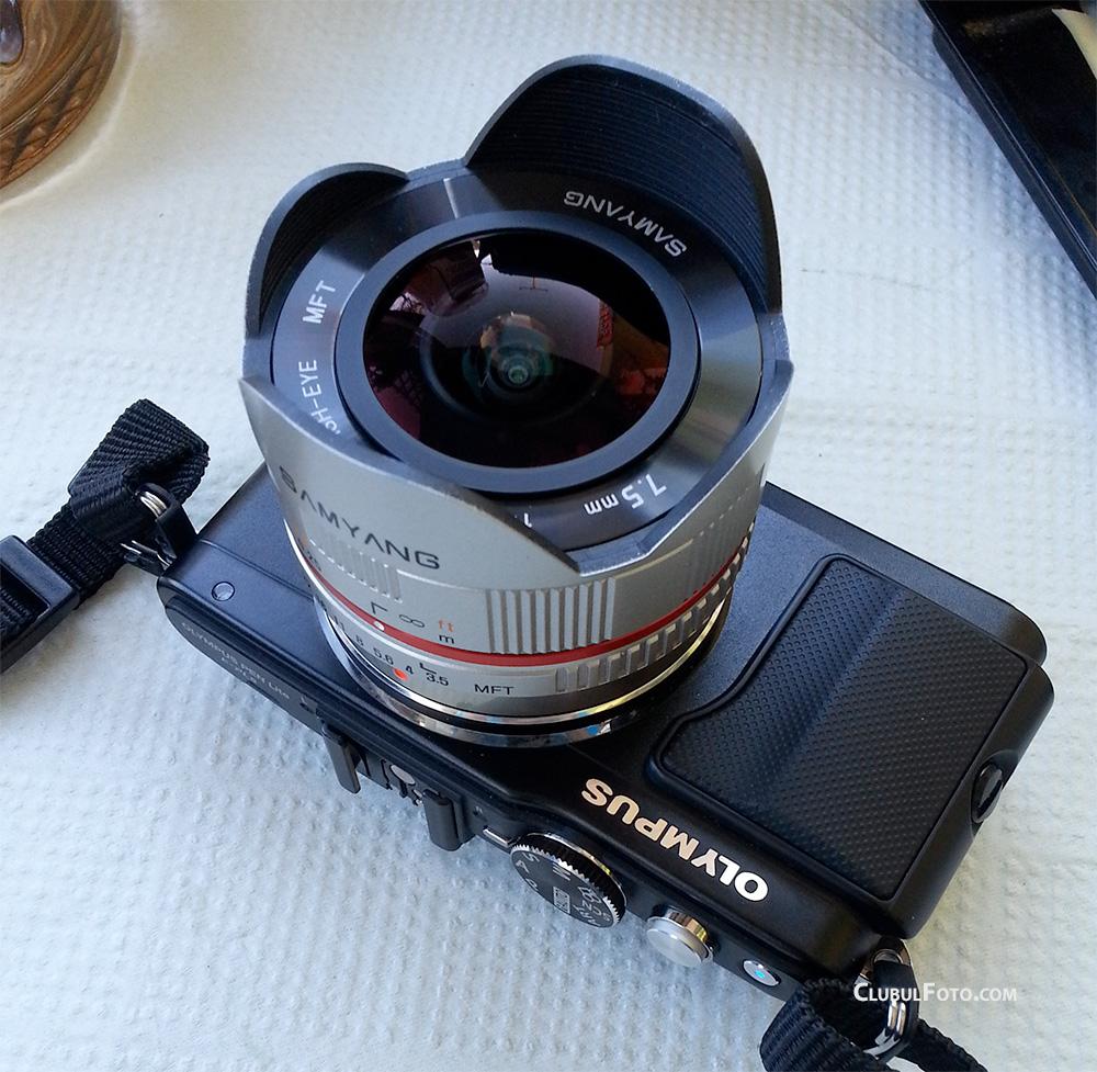 Samyang 7,5mm f/3.5 Fisheye MFT
