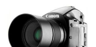 Camera Canon medium format ar putea arata asa