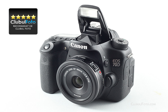 Canon 70D in test