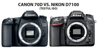 Canon 70D vs. Nikon D7100