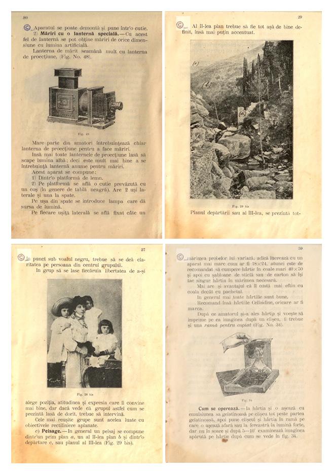 Manual de Fotografie la 1913
