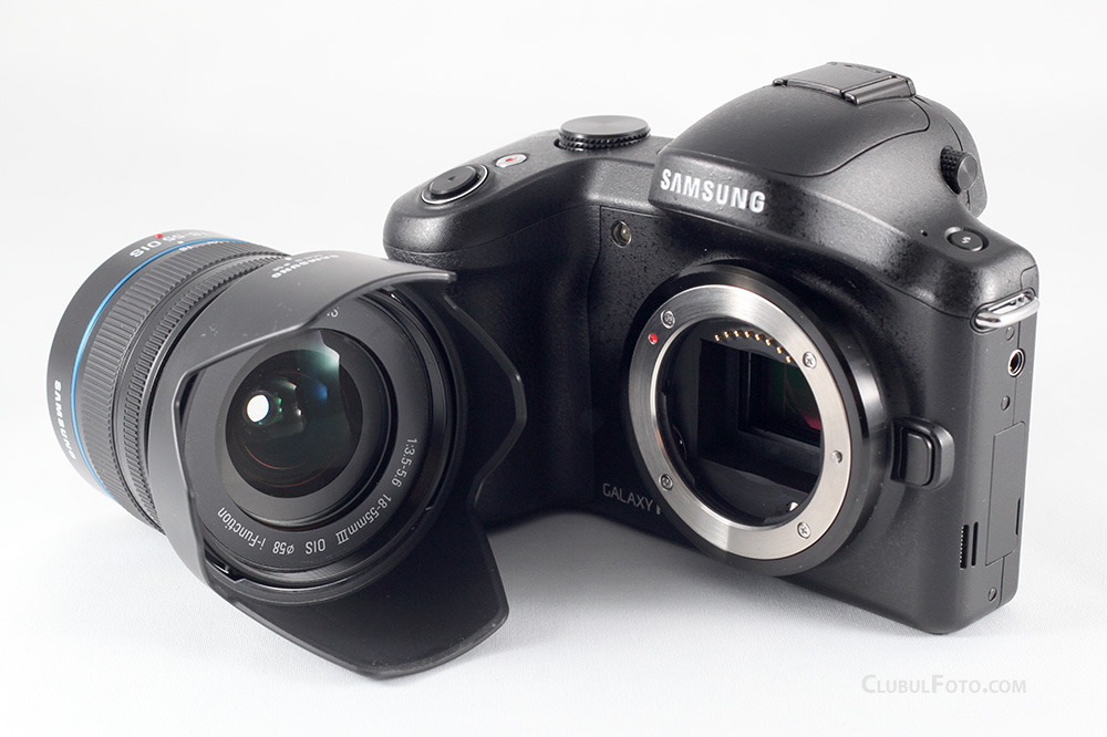 Samsung Galaxy NX - primul mirrorless cu Android, in test
