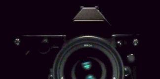 Nikon DF, asa cum se poate vedea la sfarsitul videoclipurilor teaser lansate de Nikon