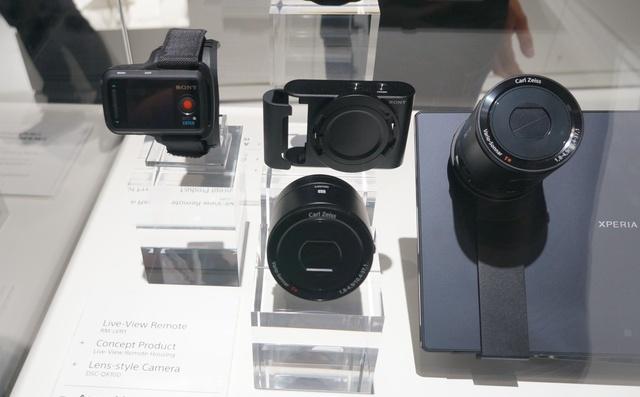 Accesorii Sony QX100 si QX10