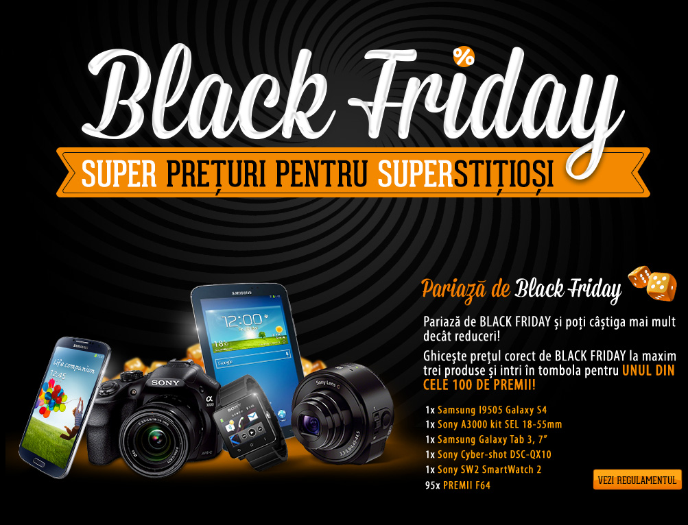 Black Friday la F64