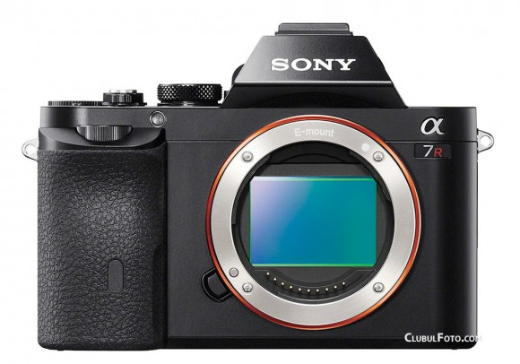 Sony A7R - mirrorless Full Frame
