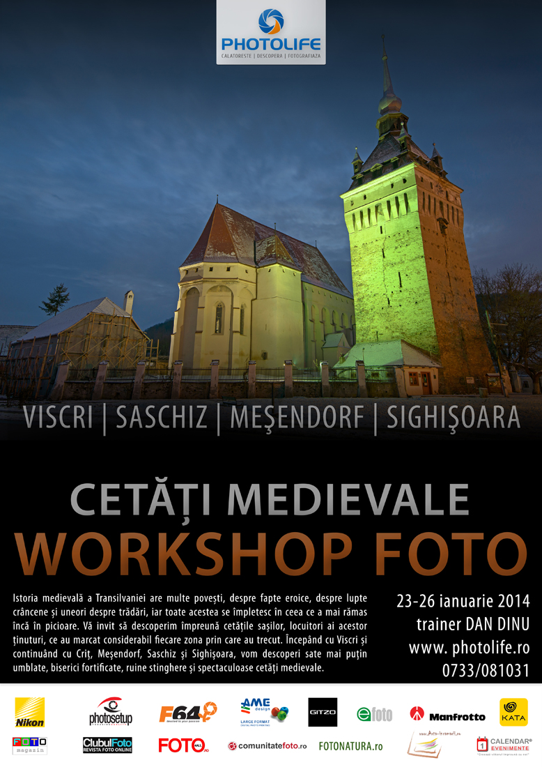 Cetati Medievale - workshop foto