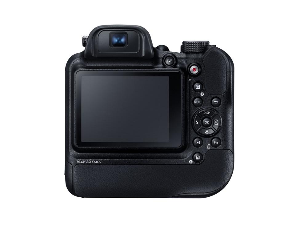 Samsung WB2200 F back