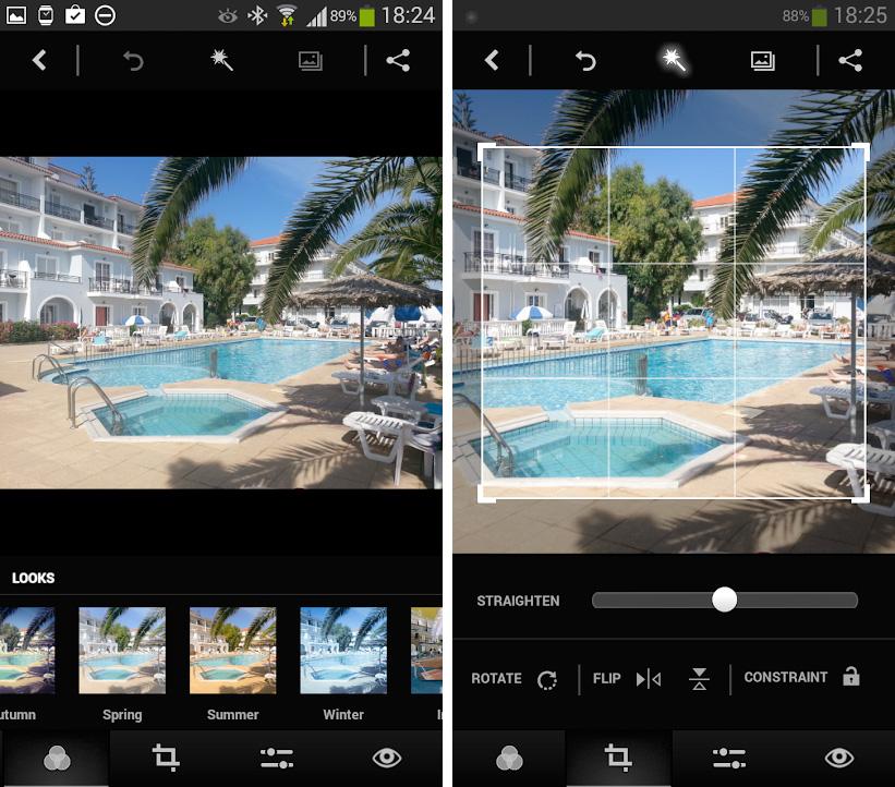 Adobe Photoshop Express pentru Android