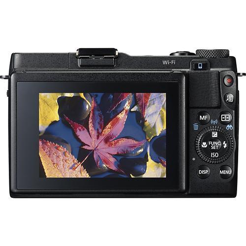 Canon G1X Mark II cu ecran LCD rabatabil