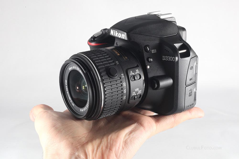 Nikon D3300 in test