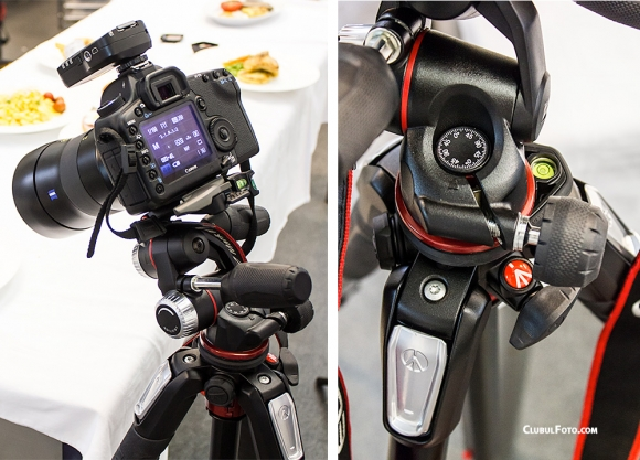 Noul cap Manfrotto 3-Way XPRO in test