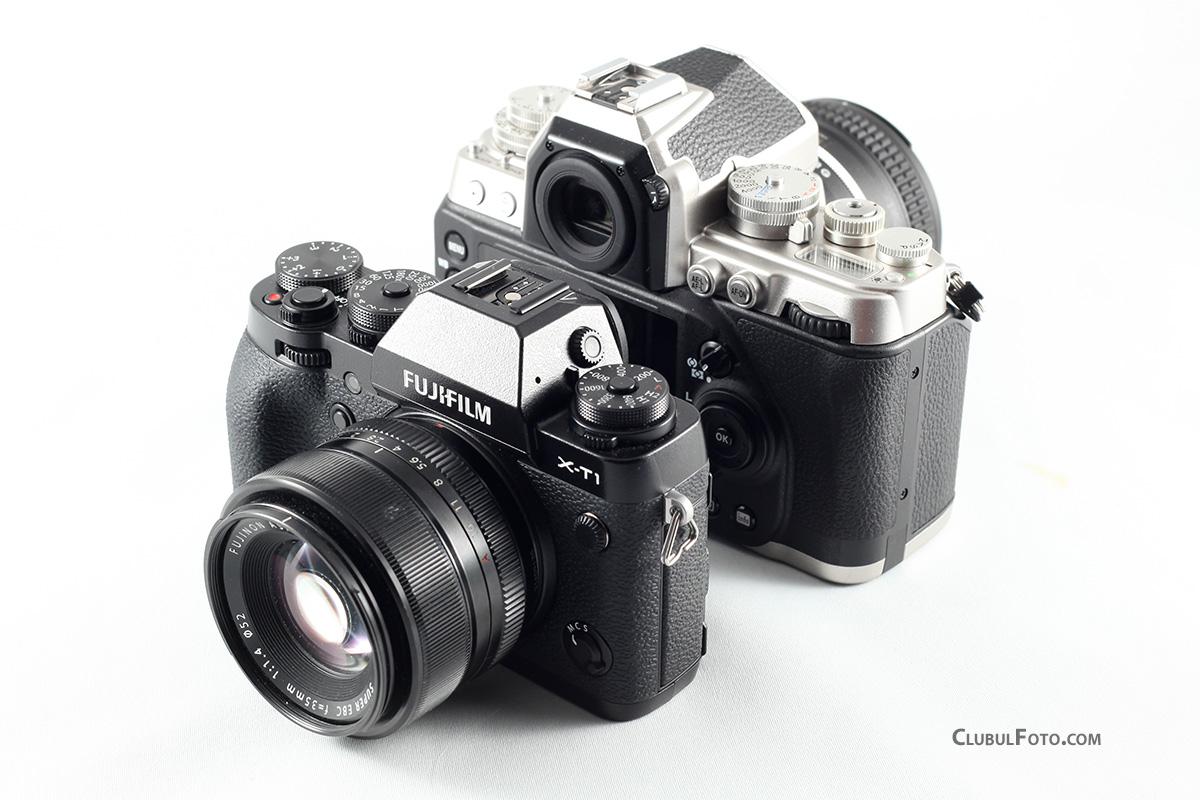 Fujifilm X-T1 vs. Nikon Df