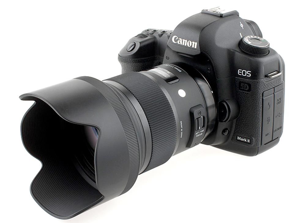 Sigma 50mm f/1.4 ART pe Canon 5D Mark II (configuratia de test)