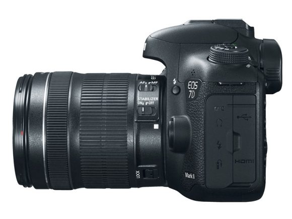 Canon 7D Mark II lateral