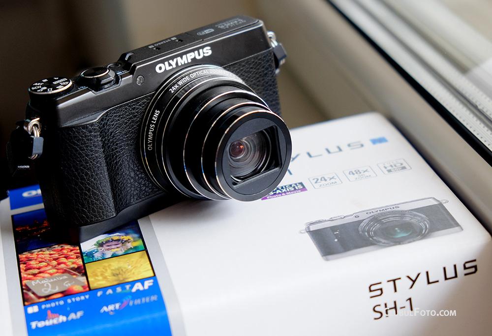 Olympus SH-1 in test: mic, cu zoom 24x si
