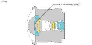 Samyang 12mm f/2.8 formula optica