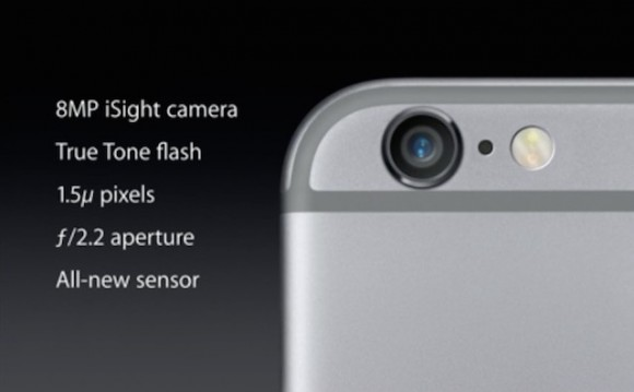Specificatii camera iPhone 6