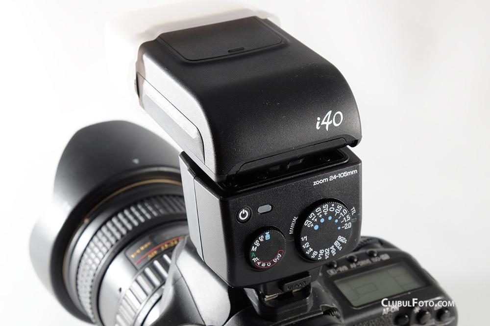 Blitzul Nissin i40 in test (pentru Canon)