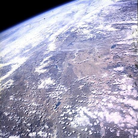 Tibetul, vazut de la bordul misiunii Mercury 9