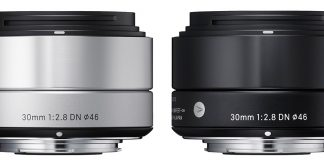 Sigma 30mm f/2.8 ART pentru mirrorless