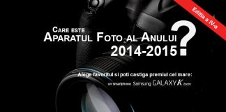 Care este Aparatul Foto al anului 2014-2015?