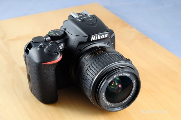 Nikon D5500 kit in test