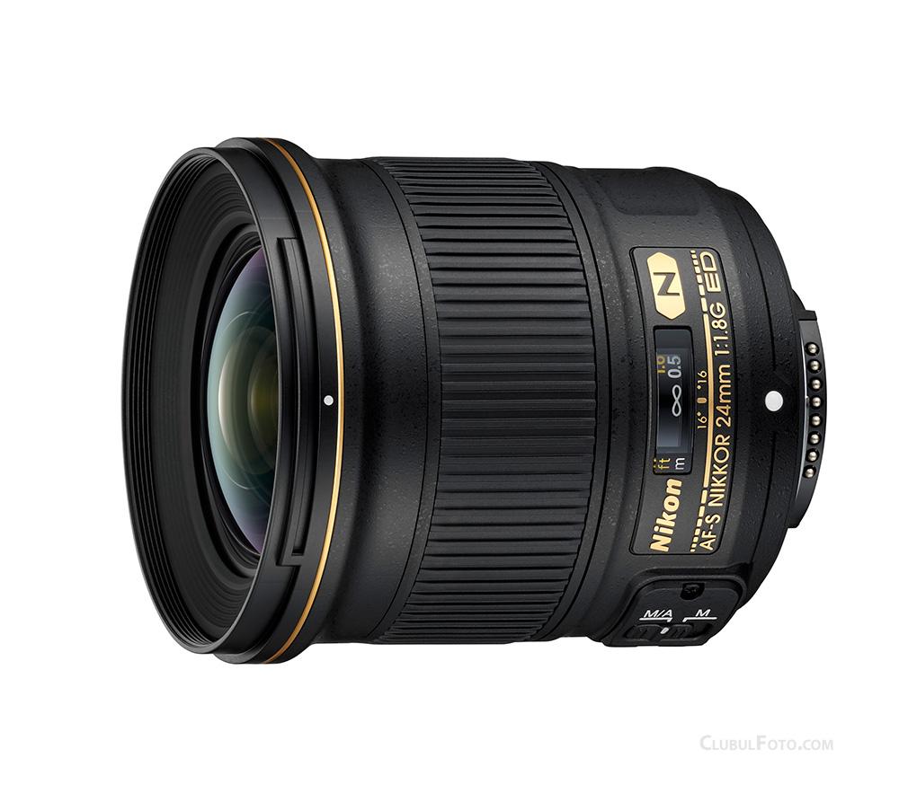 Nikon AF-S 24mm f/1.8G