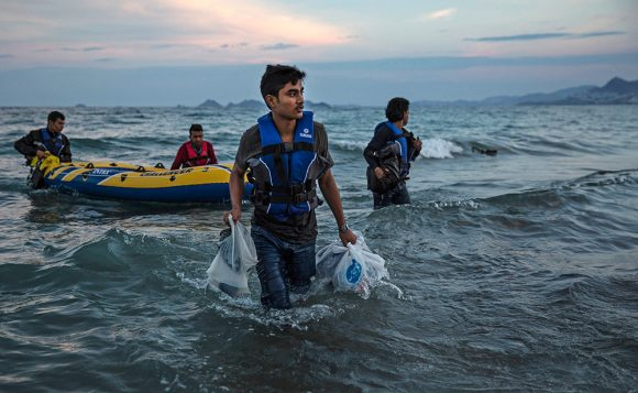Migrants Continue To Arrive On Greek Island Of Kos / Dan Kitwood / Getty Images
