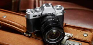 Fuji X-T10 argintiu