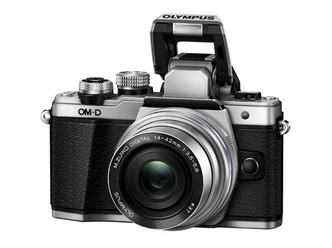 Olympus Om-D E-M10 Mark II (argintiu)