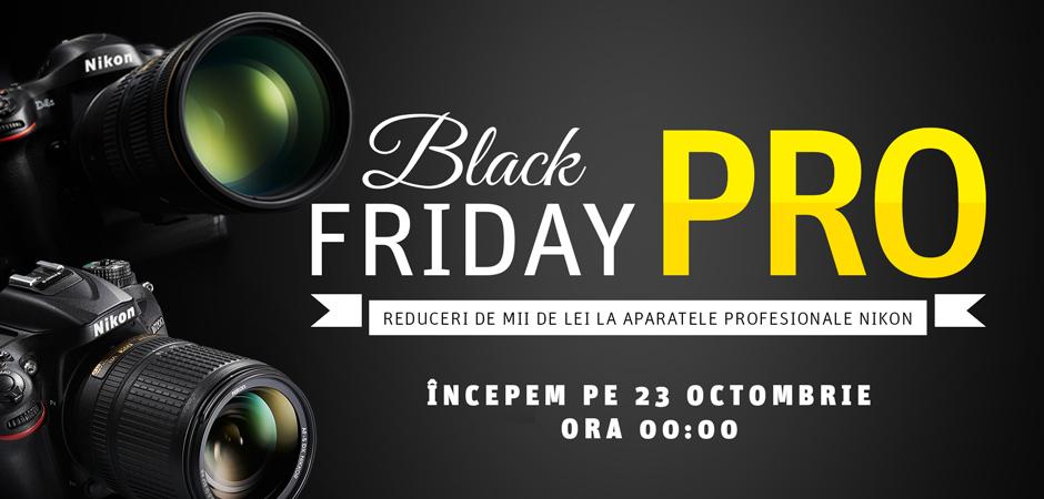 Black Friday PRO vine la YellowStore pe 23 octombrie