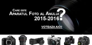 Alege aparatul foto al anului 2015-2016 si poti castiga