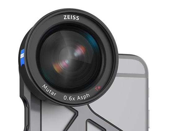 Lentila grandangulara ExoLens cu optica Zeiss, pentru iPhone 6 / iPhone 6S