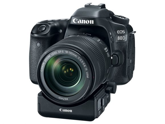 Canon 80D si adaptorul optional STM