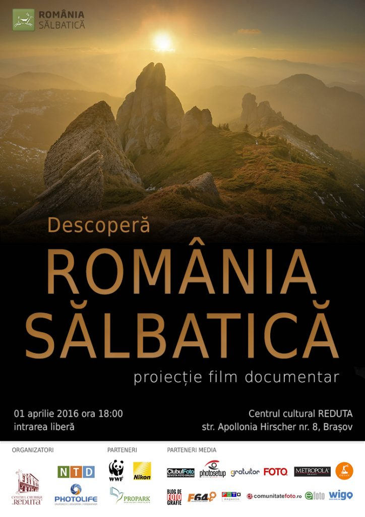 Documentar: Descopera Romania Salbatica