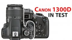 Canon 1300D in test